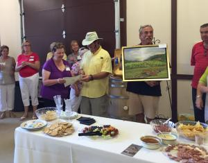 Artist Jan Dappen Receives Vintners Choice Award
